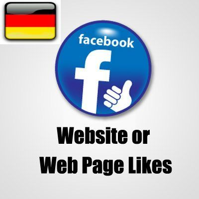 50+ German Facebook website likes