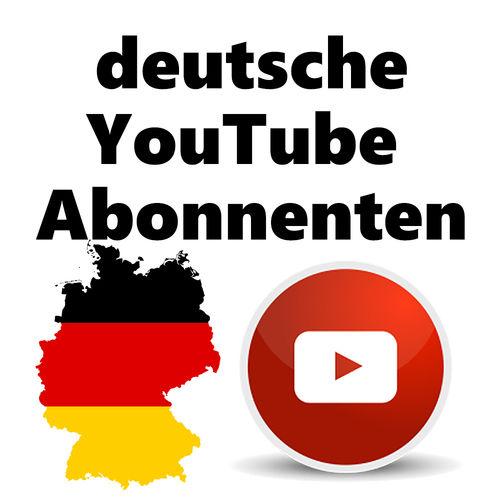 500+ german youtube subscribers
